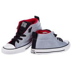 Converse Tri-Tone Canvas Mid-Top Sneakers - Toddler