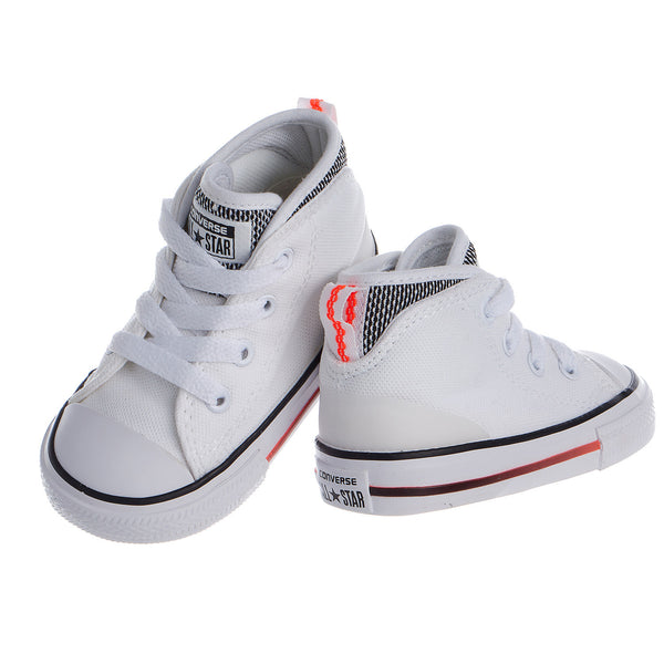 Converse Chuck Taylor All Star Syde Street Mid Top Shoes - Toddler's