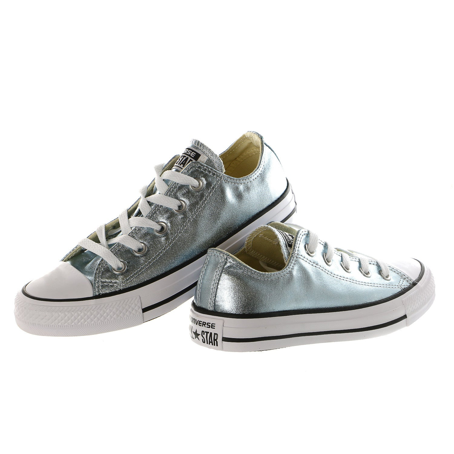 converse metallic. converse chuck taylor all star metallic canvas ox - women\u0027s