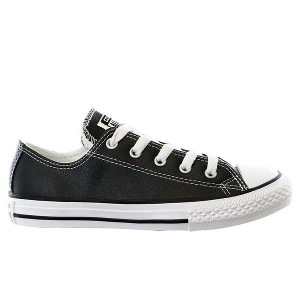 CONVERSE Kid's Chuck Taylor All Star Leather OX Fashion Sneaker Shoe