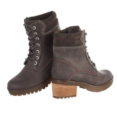 Cougar Danbury Leather Heeled Hiker Boot - Women's