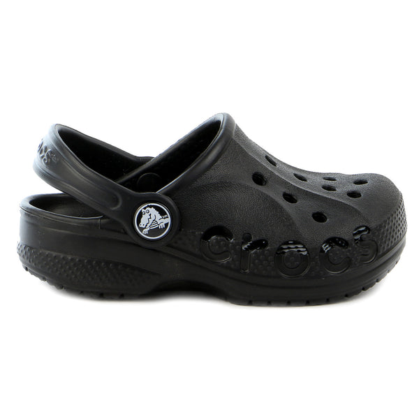 Crocs Baya Clog Shoe - Black - Boys