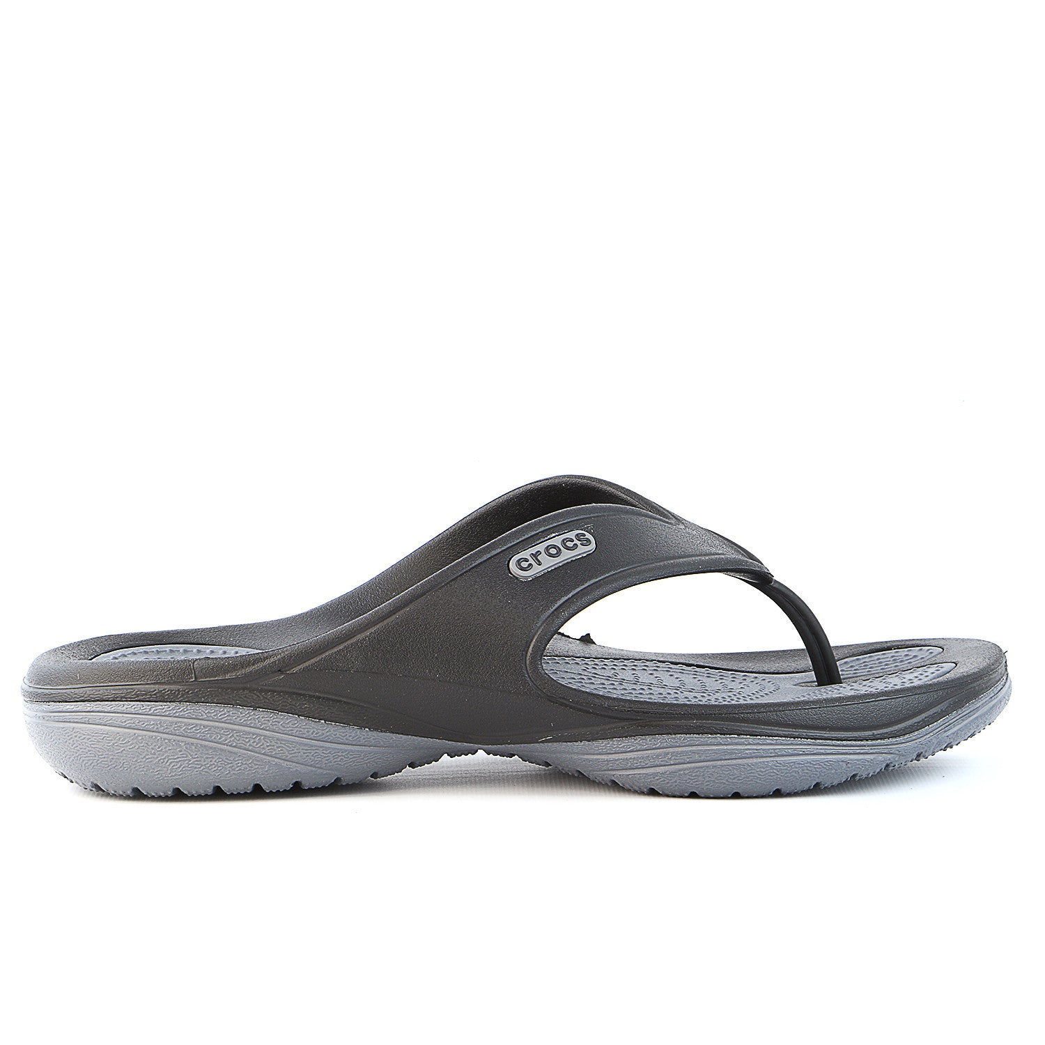 9327139bf Crocs Unisex MODI 2.0 Flip - Black Charcoal - Womens - Shoplifestyle