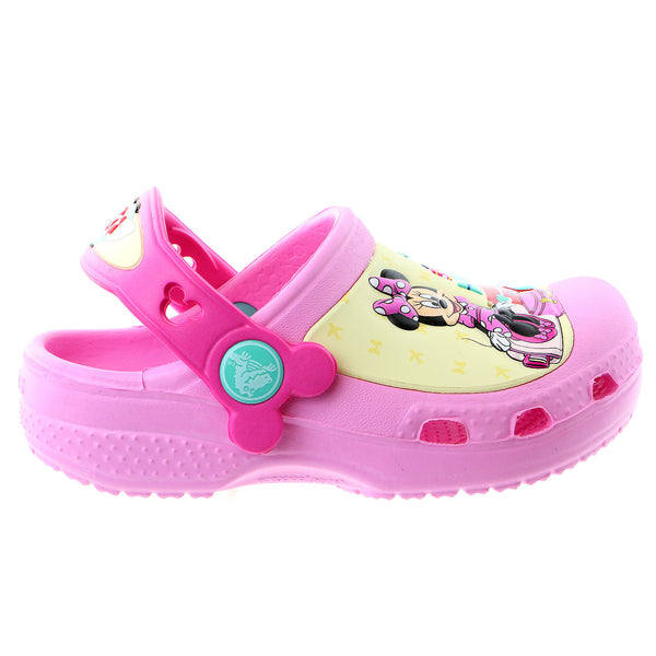 Crocs Minni Jet Set Clog Sandal - Carnation - Girls