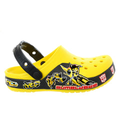Crocs Crocband Transformers Bumblebee Clog Sandal - Yellow - Toddler - 6