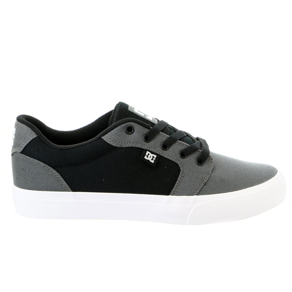 DC Anvil TX Skateboarding Sneaker Shoe - Dark Grey/Black - Mens