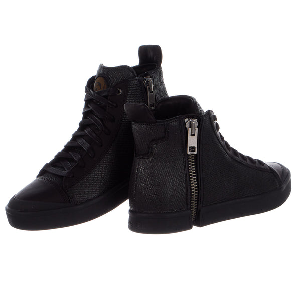Diesel S-Nentish Zip-Round Fashion Sneaker Boot Shoe - Mens