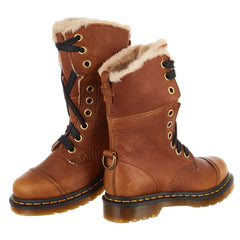 Dr. Martens FUR-LINED AIMILITA GRIZZLY Boot