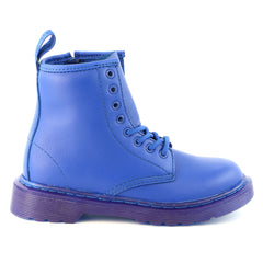 Dr Martens Delaney Boots - Blue - Boys
