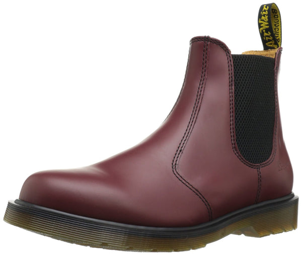 Dr. Martens 2976 Chelsea Boot  - Cherry Red Smooth - Mens