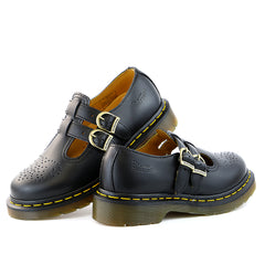 Dr. Martens 8065 Mary Jane Shoe - Black Smooth - Womens