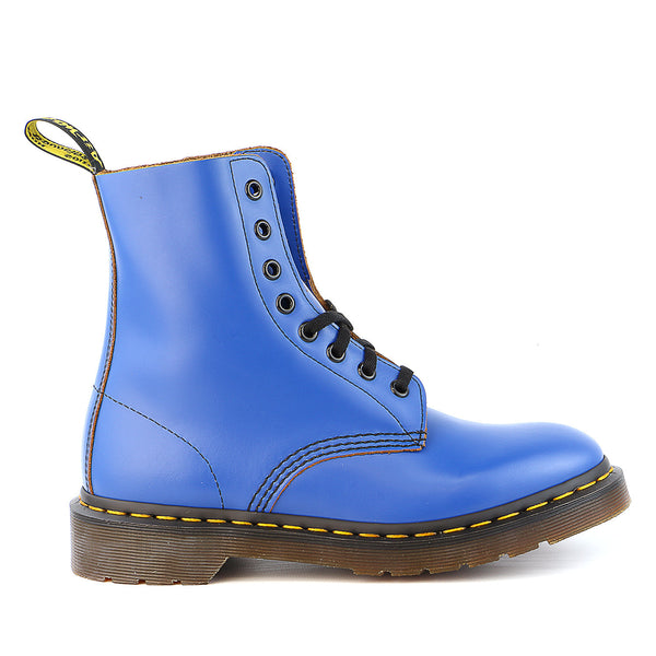 Dr Martens  Pascal 8 Eye Boot - Blue - Mens