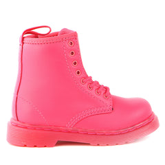 Dr Martens  Brooklee Boots - NEON PINK - Boys