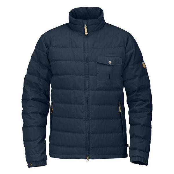 Fjallraven Ovik Lite Winter Down Jacket - Mountain Grey - Mens