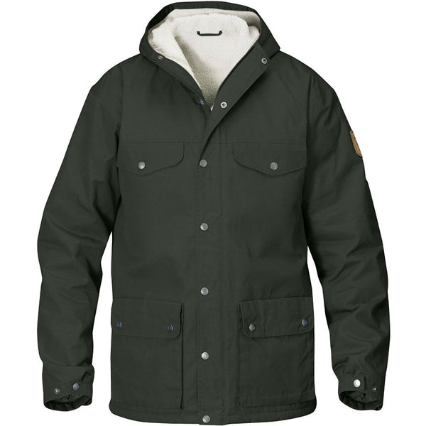 Fjallraven Greenland Winter Hooded Insulated Jacket - Mountain Grey - Mens