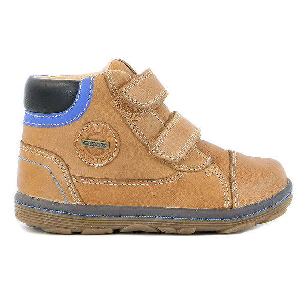 Geox Lab Boy Boot - Cognac/Black - Toddler