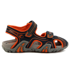 Geox Kraze Junior Sandal Shoe - Blue - Boys