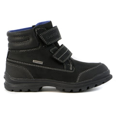 Geox J William Waterproof Boot Shoe - Black - Boys
