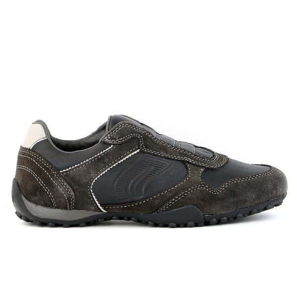 Geox U Snake J Shoe - Grey/Black - Mens