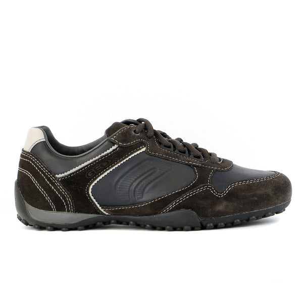 Geox U Snake Q Shoe - Black/Mud - Mens