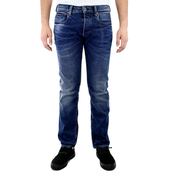 G-Star Attacc Straight Leg Selekt Stretch Denim Jeans - Medium Aged - Mens