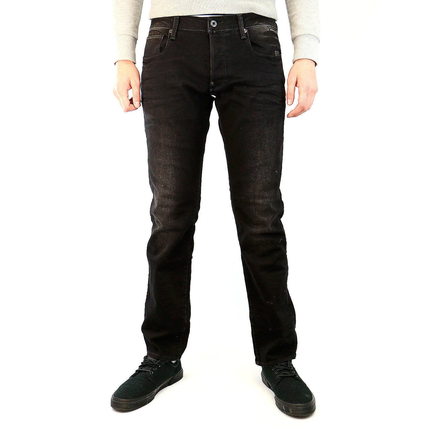 ef7d15b0ee4 G-Star Defend Straight Jean - Dark Aged - Mens - Shoplifestyle