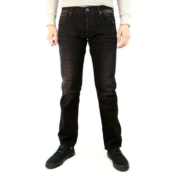 G-Star Defend Straight Jean - Dark Aged - Mens