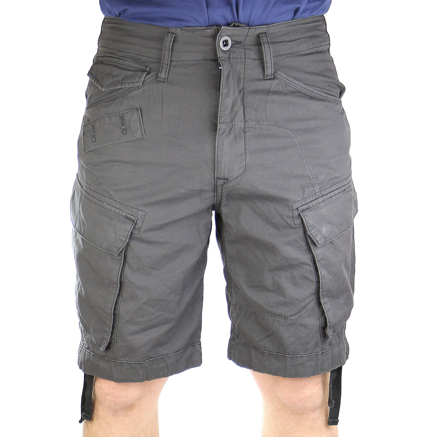 05214f9d65 G-Star Rovic Field Loose Bermuda Short - Raven - Mens