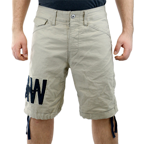 G-Star Pragly Bermuda Fashion Shorts - Khaki - Mens