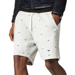 G-Star Lufab Shorts Swear Pants Shorts - Snow Heather  - Mens