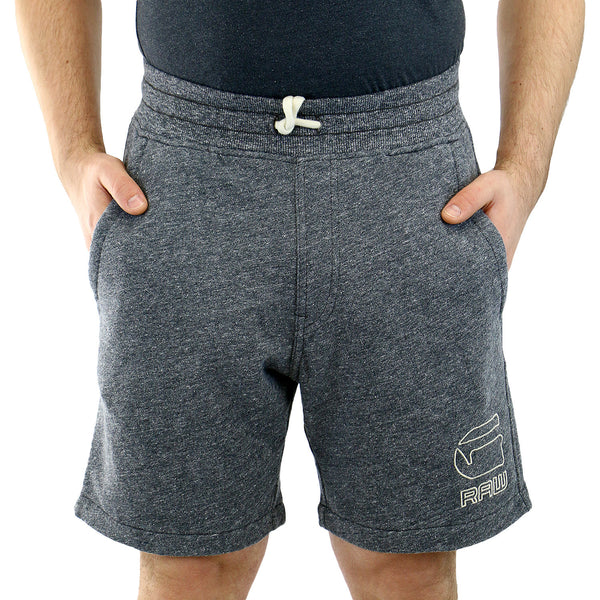 G-Star Wanvic Short Swear Pants Shorts - Raw Grey Heather - Mens