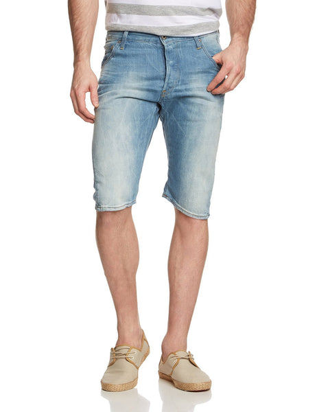 G-Star Arc 3D Jean Shorts - Light Aged - Mens