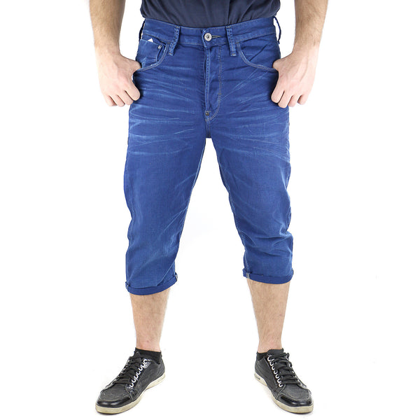 G-Star Type C 3/4 Denim Pants - Ball Pen Blue - Mens