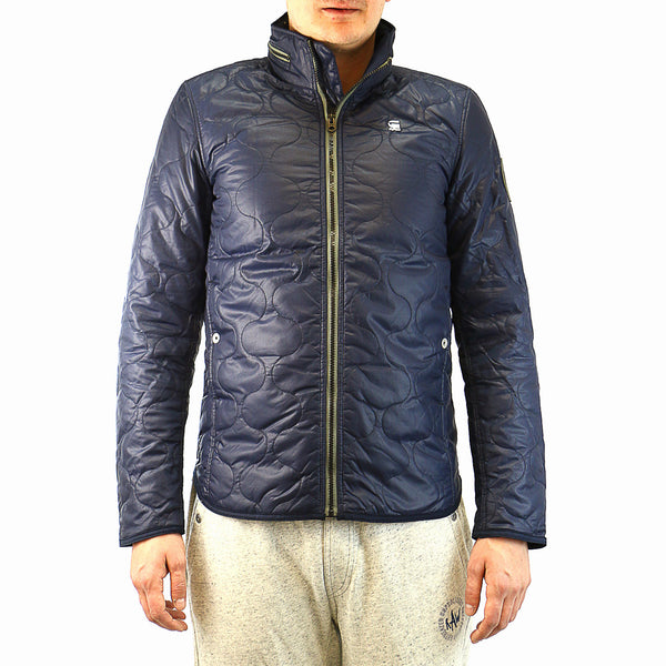 G-Star Edla Overshirt Fashion Blazer Windbreaker Jacket - Indigo - Mens