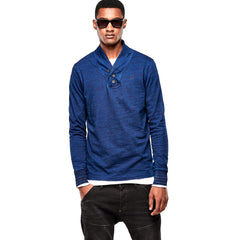 G-Star Ezra Long Sleeve Tee - Indigo - Mens