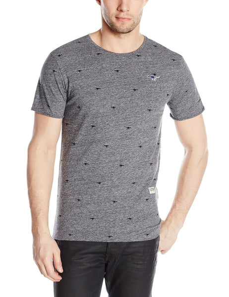 G-Star Lufab Crew Neck Short Sleeve T-Shirt Jersey Tee - Raw Grey Heather - Mens