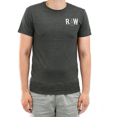 G-Star RAW Mayer Fashion Tee Short Sleeve T-Shirt - Raven - Mens