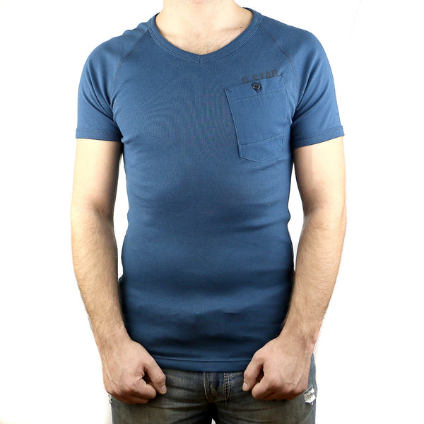 G-Star Order Fashion Tee T-Shirt - Space Blue - Mens
