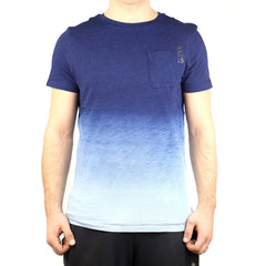 G-Star Galley Dipped Fashion Tee T-Shirt - Indigo - Mens