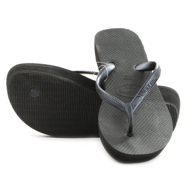 Havaianas High Light Thong Flip Flop Sandal - Black - Womens