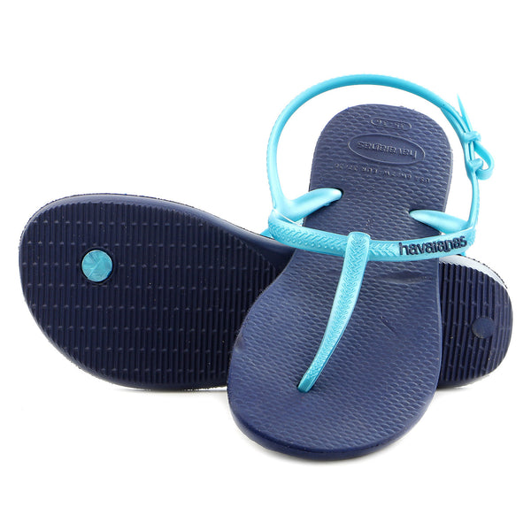 Havaianas Freedom Thong Flip Flop Sandal - Navy/Blue - Womens