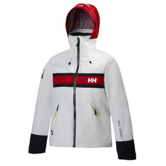 Helly Hansen Salt Windbreaker Waterproof Hooded Rain Jacket - Womens