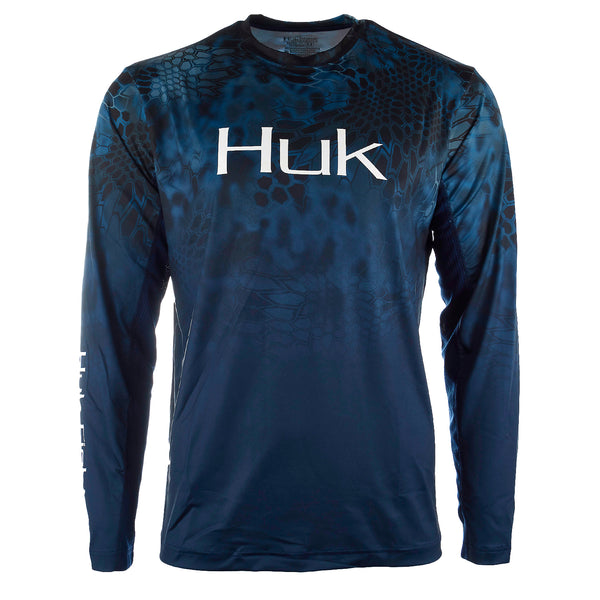 Huk Kryptek Fade ICON Long Sleeve T-Shirt - Men's