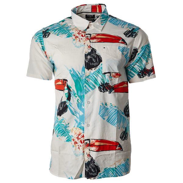 Hurley Toucan Short Sleeve Shirt - Men's