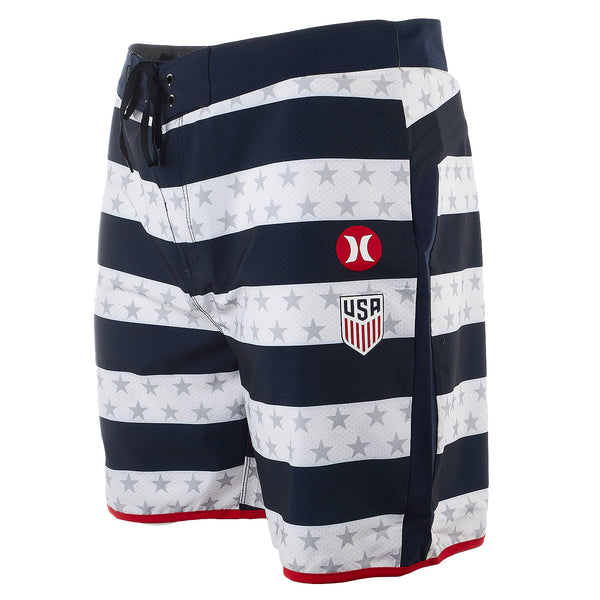 "Hurley Phantom USA Home National Team 18"" Board Shorts - Men's"