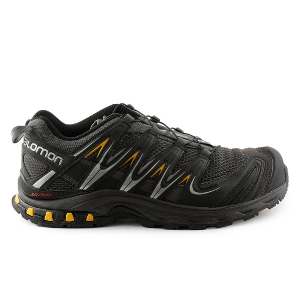 Salomon XA PRO 3D Trail Running Shoe - Autobahn/Black/Yellow Gold (Mens)