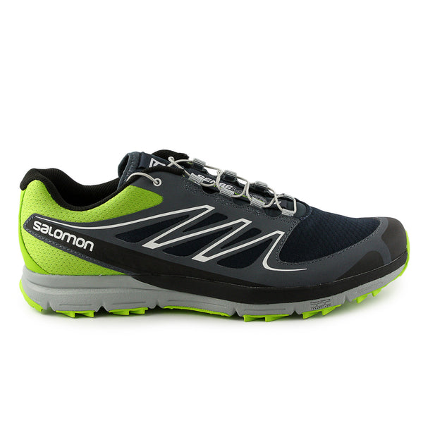 Salomon Sense Mantra 2 Trail Running Shoe - Green/Grey/Blue (Mens)