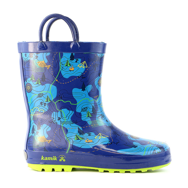 Kamik Explore Rain Boot - Blue - Kids