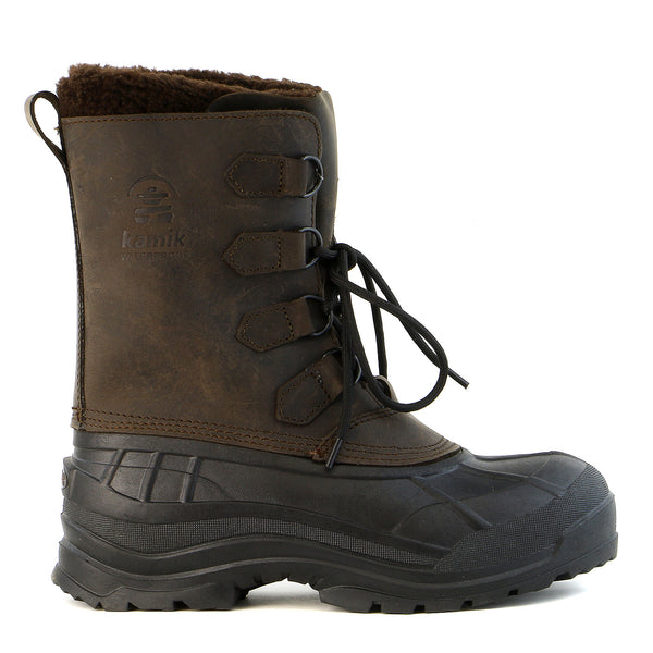 Kamik Alborg Cold Weather Snow Boot - Gaucho/Brown - Mens