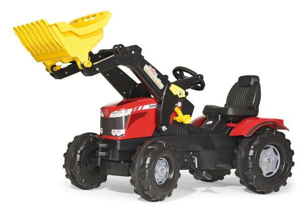 Kettler MASSEY FARMTRAC FRONT LOADER Farm Tractor - Multi - Boys - one